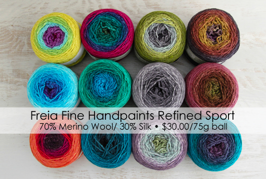 Freia Fine Handpaints Refined Sport Yarn