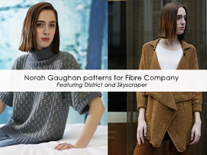 Norah Gaughan patterns for Fibre Company