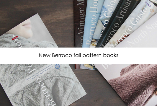 Berroco Fall Pattern Books