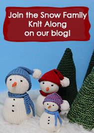 Valley Yarns Snow Family Knit Along