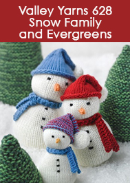 Valley Yarns Snow Family and Evergreens