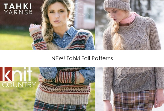 New Fall Patterns from Tahki