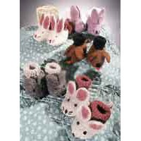 CH22 Animal Friends Booties