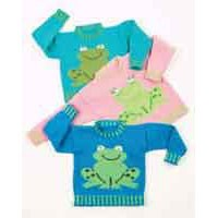 D024 Freddy & Frieda Frog Sweater