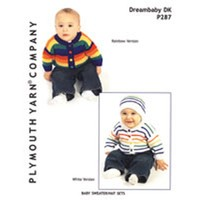 P287 Baby Sweater/Hat Sets
