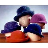 Fiber Trends AC11 Crocheted Felt Hats