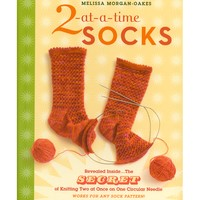2-at-a-Time Socks Top-Down with Melissa Morgan-Oakes
