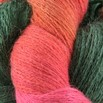 Valley Yarns 2/14 Alpaca Silk Hand Dyed by the Kangaroo Dyer - Cornucopia