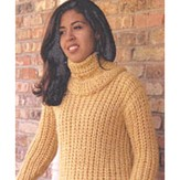 Misti Alpaca 645 Detachable Turtle Neck Sweater