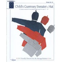 23 Child's Guernsey Sweater & Hat