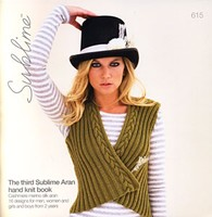 615 Third Sublime Aran Hand Knit Book