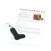 Sock Blocker Keychain and Mini Pattern - Dark