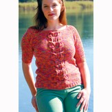 Araucania Cabled Raglan Sweater PDF