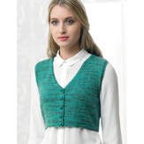 Araucania Fitted Waistcoat with Razor Back PDF