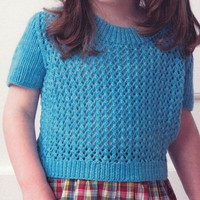 Child's Lacy Top (Huasco DK)