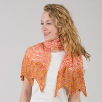 E227 Seaside Fantasy Shawl PDF