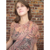 F126 Multidirectional Lace Ridge Shawl (Free)