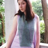 Bad Cat Designs Sea Glass Infinity Scarf