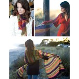 Be Sweet Striped Shawls (PDF)