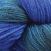 Valley Yarns BFL Fingering Hand Dyed by the Kangaroo Dyer - Sapphire