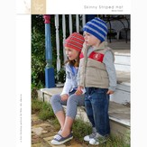 Blue Sky Fibers Skinny Stripe Hat  (Free)