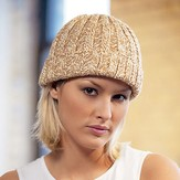 Blue Sky Fibers Two Tone Hat
