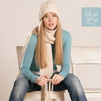 Worsted Scarf & Hat