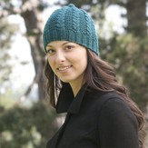 Cascade Yarns DK197 Garter Rib with a Twist Hat (Free)
