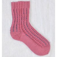 Heritage Pink and Lacy Sock (Free)