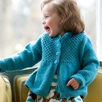 Princess Child's Smocked Cardigan (Free)