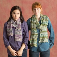 Bella Lino Drop Stitch Scarf (Free)