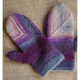 Classic Elite Yarns 1417 Mitered Mittens PDF