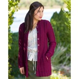 Classic Elite Yarns Viewpoints 1514 From Folly Cove - Hetty's Garden Coat PDF