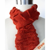 Welted Scarf (Free)