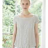 Debbie Bliss A-line Cabled Top PDF