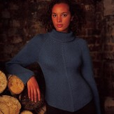 Debbie Bliss Shaped Edge Sweater PDF