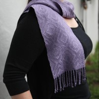 #69 6-Shaft Scarf in 5/2 Bamboo PDF