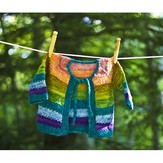 Dream in Color 604 Tulip Baby Cardigan PDF