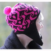 Lisa Ellis Designs Snowboarders Neon Hat PDF