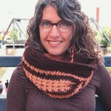 Fancy Tiger Crafts Tunisian Heirloom Cowl