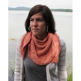 The Fibre Company + Kelbourne Woolens Schieffelin Point Shawl (Free)