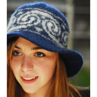 2203 Swirl Felted Bucket Hat PDF