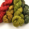 Blue Ridge Yarns Footlights - Applerose