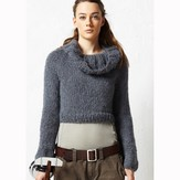 Jo Sharp Cropped Yoke Sweater PDF
