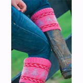 Juniper Moon Farm Fair Isle Boot Toppers (Free)