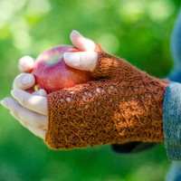Cortland Fingerless Mitts (Free)
