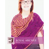 Juniper Moon Farm Royal Arches Shawl - The Dales Collection