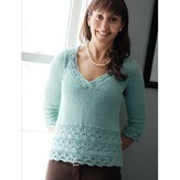 Knit One Crochet Too 2030 English Manor Top
