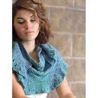 2072 Summer Night Shawlette