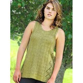 Knit One Crochet Too 2204 Pyramid Tank